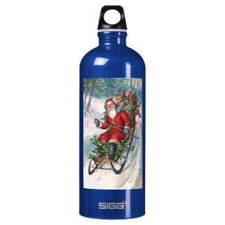 Santa Claus on Sleigh SIGG Traveler 1.0L Water Bottle