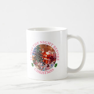 Santa Claus On The Night Before Christmas Coffee Mug