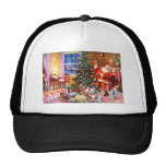 Santa Claus on The Night Before Christmas Trucker Hat