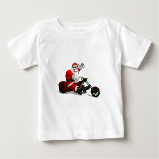 Santa Claus On Trike Baby T-Shirt