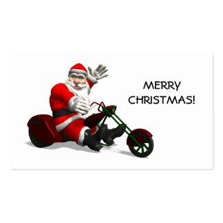 Santa Claus On Trike Business Cards