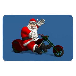 Santa Claus On Trike Magnet
