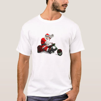 Santa Claus On Trike T-Shirt