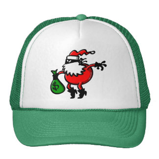 Santa Claus or Thief? Trucker Hat