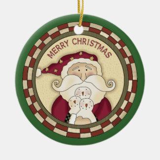 Santa Claus Ornament Christmas Tree Ornament