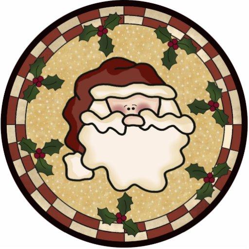 Santa Claus Ornament Acrylic Cut Out