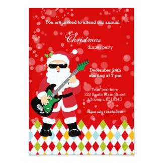 Santa Claus party * choose background color Card