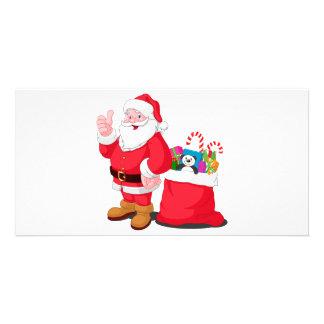 Santa Claus Customized Photo Card