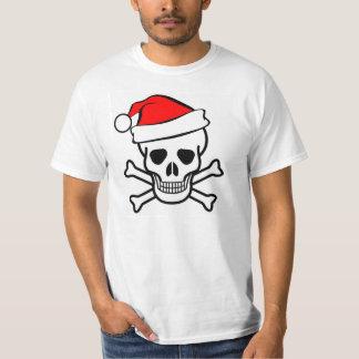 Santa Claus Pirate Tee Shirt