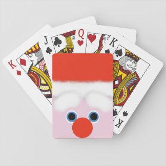 Santa Claus Playing Cards