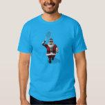 Santa Claus Playing Tennis T-Shirt