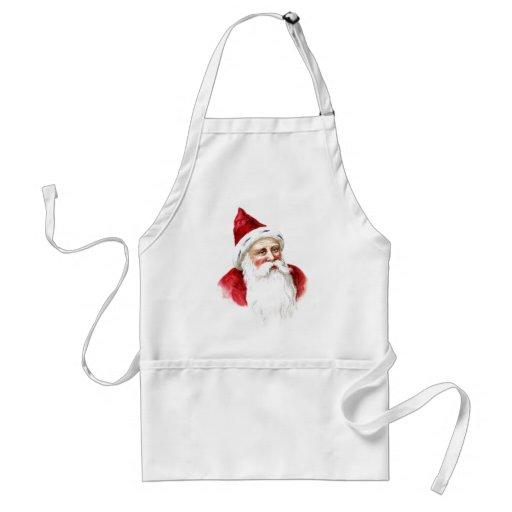 Santa Claus Portrait Adult Apron
