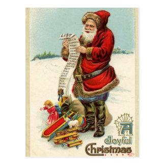 Santa Claus Post Cards
