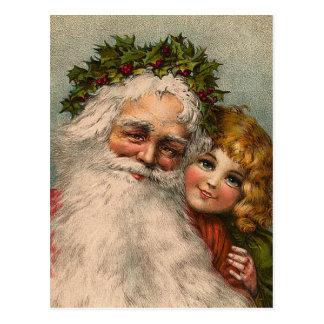 """""""Santa Claus"""" Postcard"""