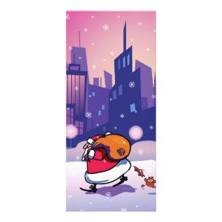 Santa Claus Rack Card