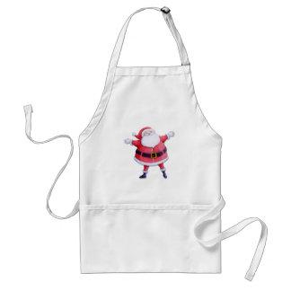 Santa Claus red Apron