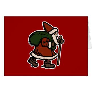 Santa Claus (Red Robes) Card