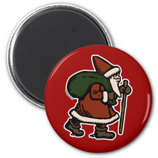 Santa Claus (Red Robes) Refrigerator Magnets
