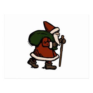 Santa Claus (Red Robes) Postcard