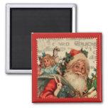 Santa Claus Refridgerator Magnet Fridge Magnets