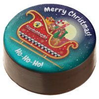 Santa Claus Regulatory Compliant Chocolate Covered Oreo