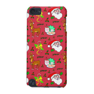 Santa Claus – Reindeer & Candy Canes iPod Touch 5G Cover