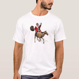 Santa Claus Riding A Camel T-Shirt