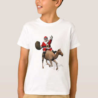 Santa Claus Riding A Camel T-Shirt