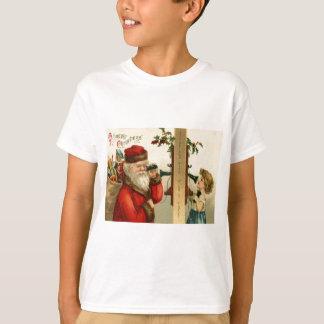 Santa Claus Sack of Toys Holly Phone T-Shirt