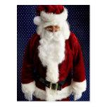 Santa Claus Sad Postcard