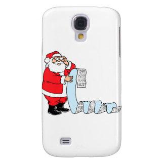 Santa Claus Samsung Galaxy S4 Case