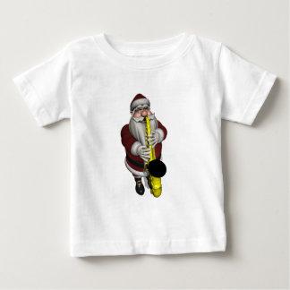 Santa Claus Saxophone Player Baby T-Shirt