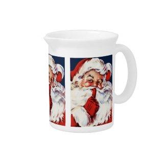 Santa Claus Saying SH-H-H