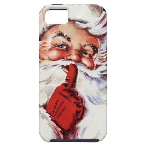 Santa Claus Saying SH_H_H iPhone SE55s Case