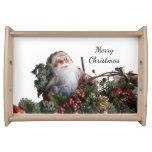 Santa Claus Serving Tray