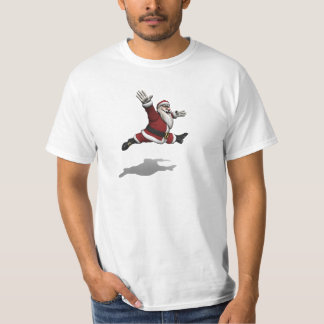 Santa Claus Shows An Elegant Grand Jete T-Shirt