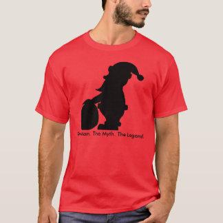 Santa Claus Silhouette Man Myth Legend T-Shirt