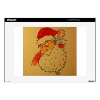"""Santa Claus Skin For 15"""" Laptop"""