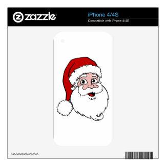 Santa Claus Skin For iPhone 4S