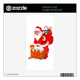 santa claus skin for the iPhone 4S