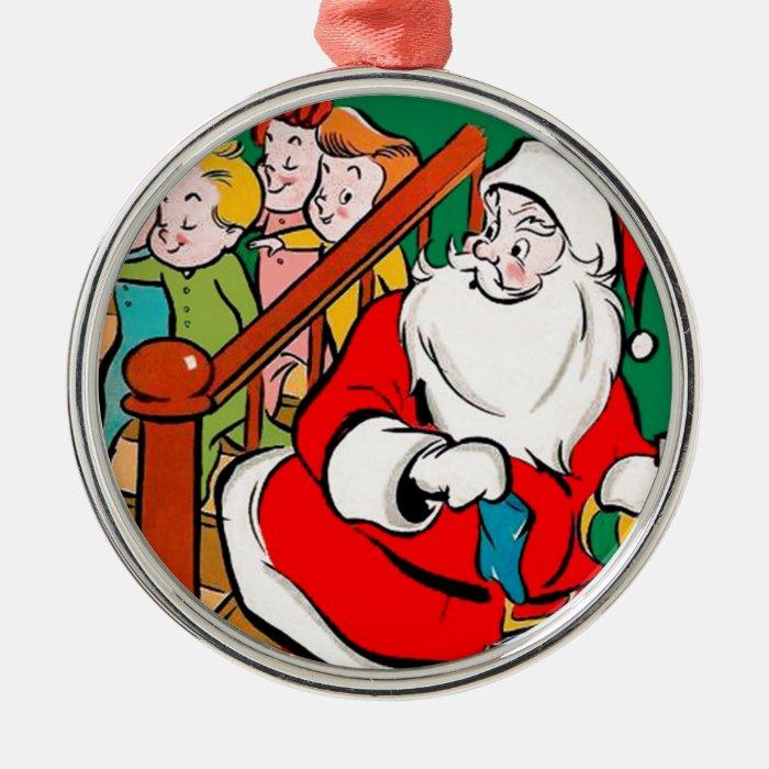 Santa Claus - Sleepwalkers Metal Ornament