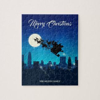 Santa Claus Sleigh Christmas - Puzzle