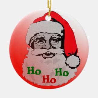 Santa Claus Sleigh Gifts Ornament