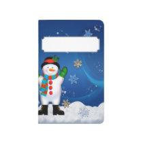 SANTA CLAUS & SNOWMAN POCKET JOURNAL