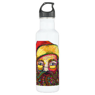 Santa Claus Stainless Steel Water Bottle