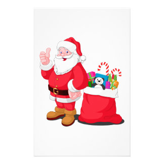 Santa Claus Stationery