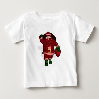 Santa Claus Strawberry Farmer Baby T-Shirt