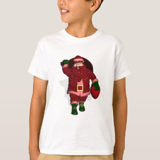 Santa Claus Strawberry Farmer T-Shirt