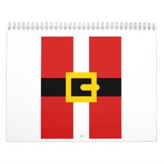 Santa Claus suit Calendar