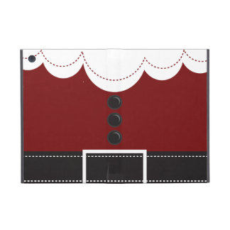 Santa Claus Suit Christmas Holiday Design iPad Mini Case